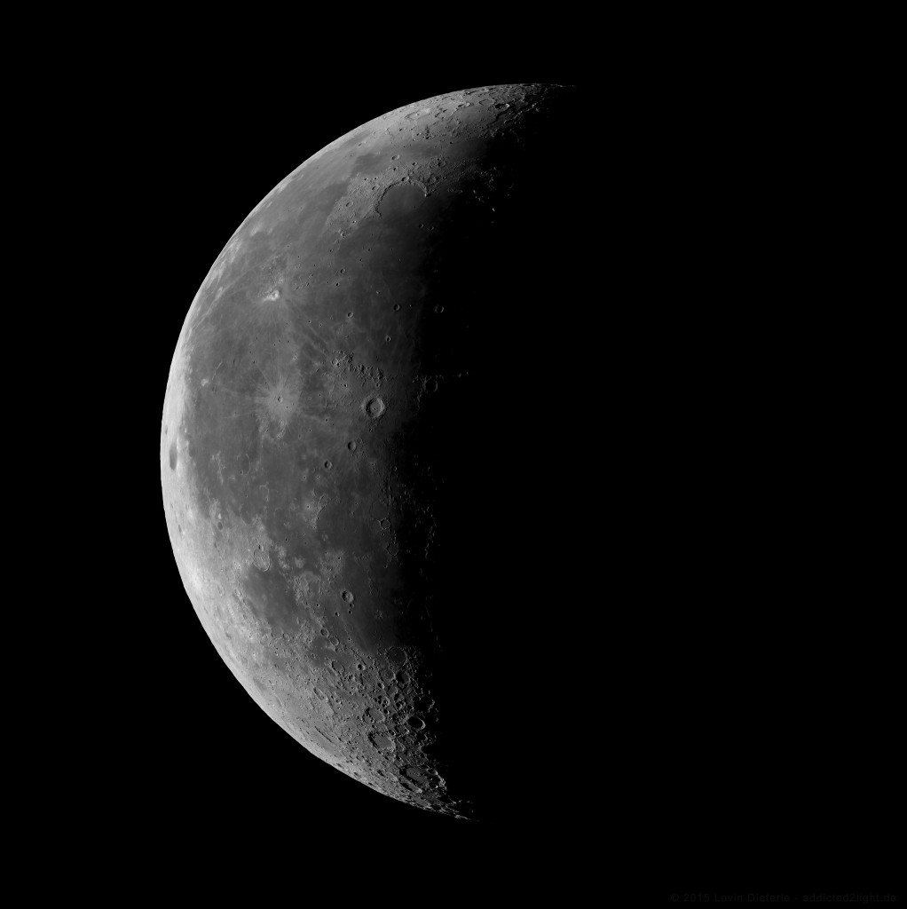 Mond vom 08.08.2015 um 07:30 Uhr